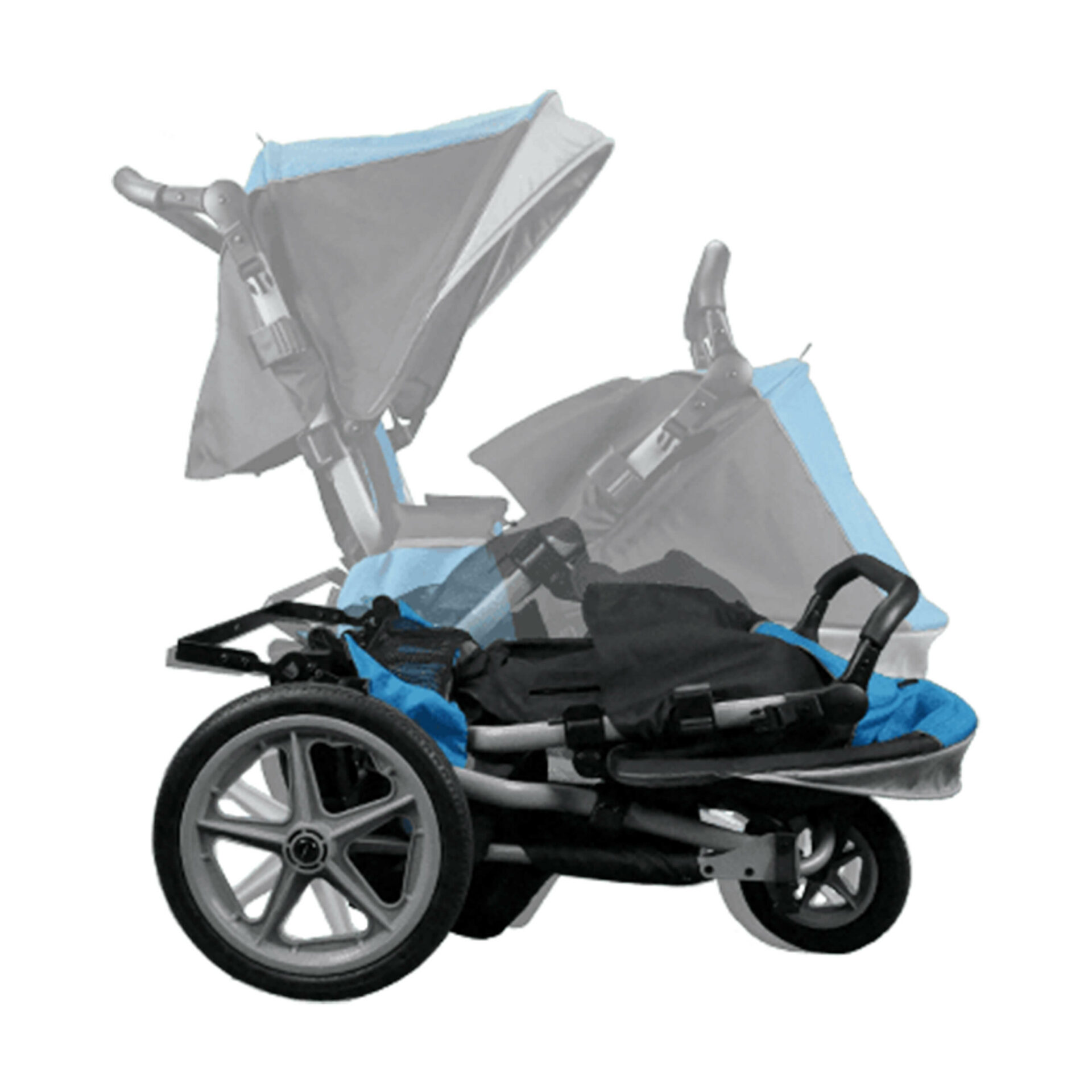 Unfolded Paediatric Dyno Stroller