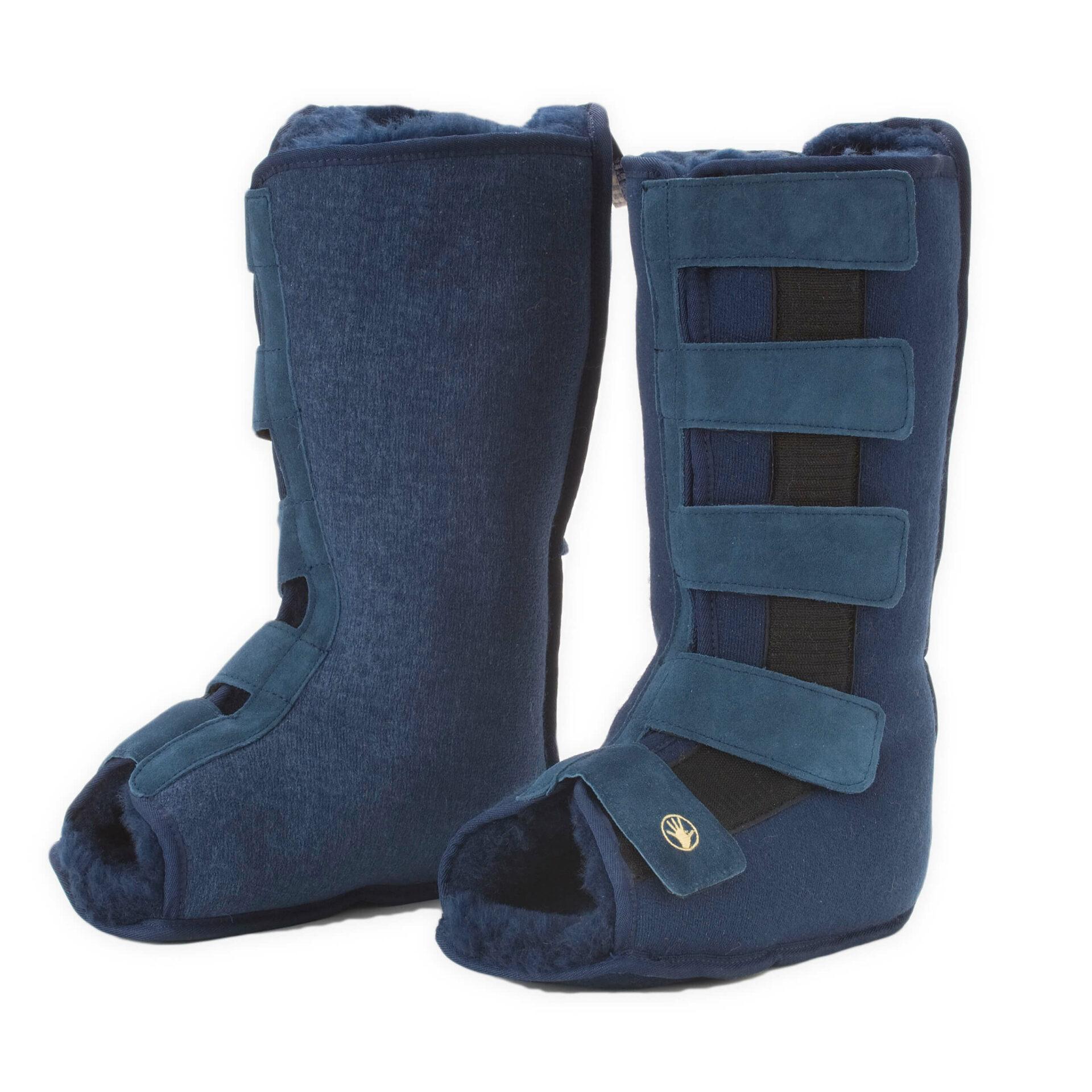 Medical Sheepskin Tall Slipper Boot