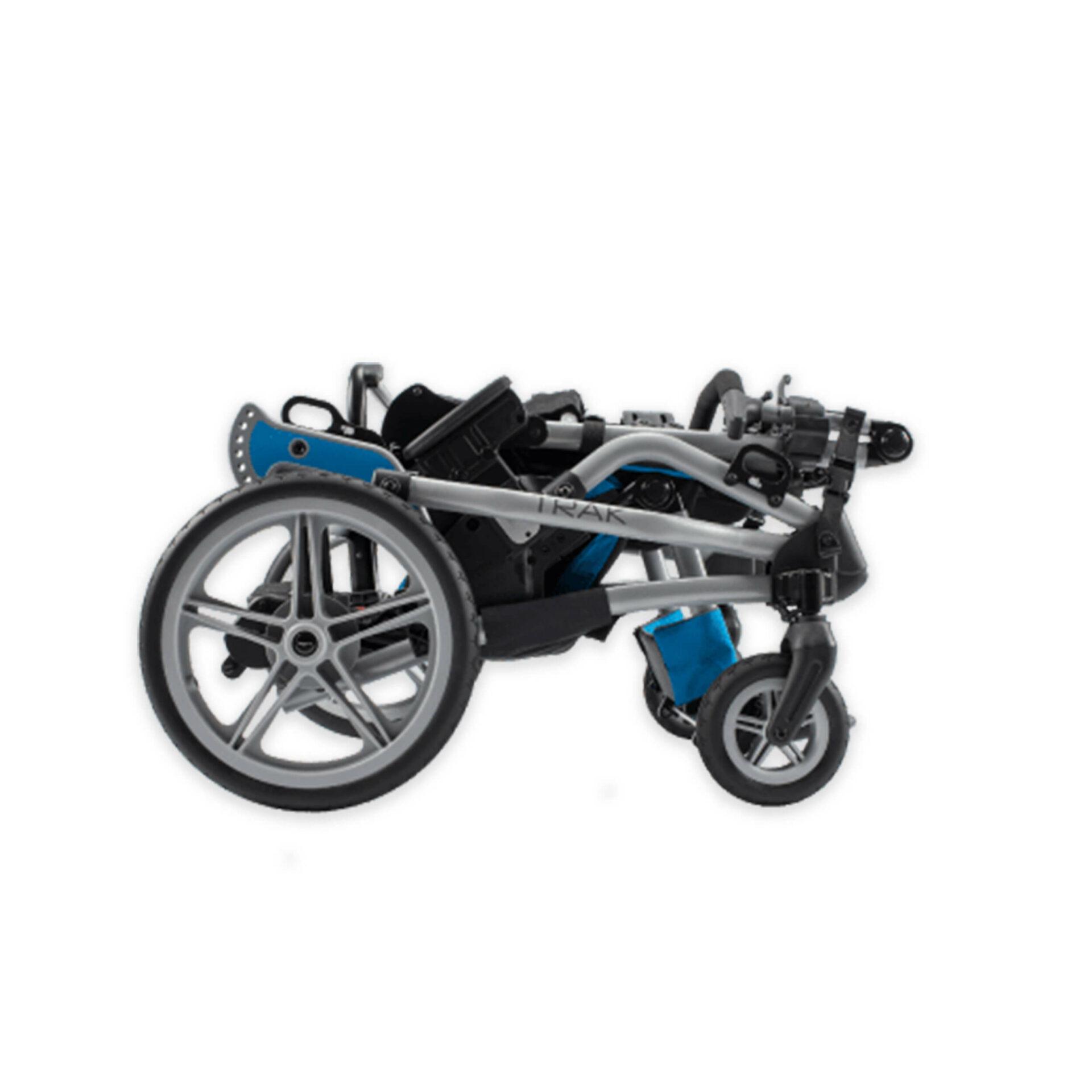 Folded Paediatric Rehab Stroller