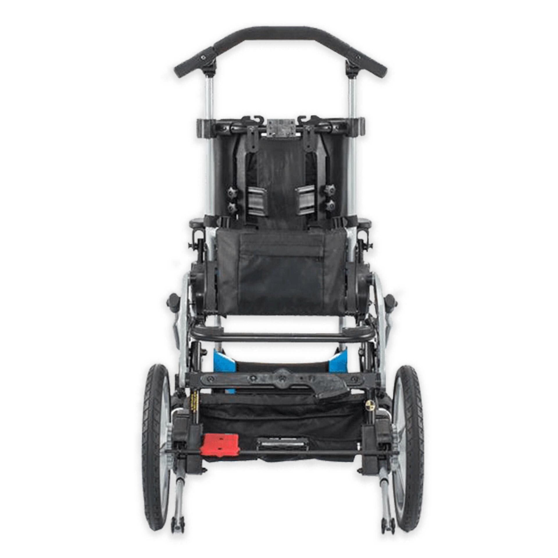 Back of Paediatric Rehab Stroller