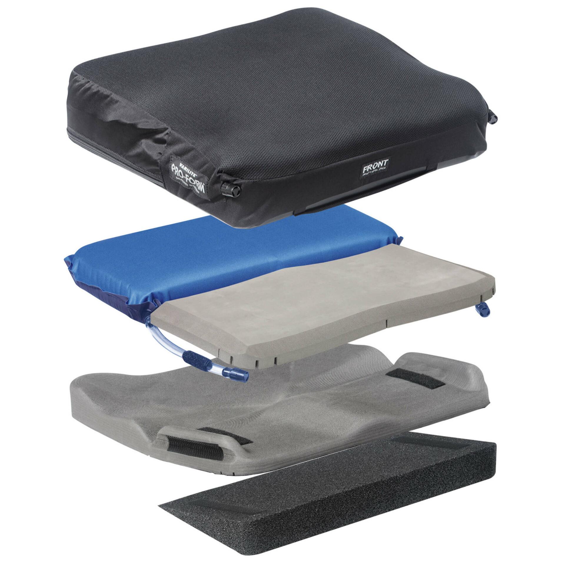 Customisable wheelchair cushion