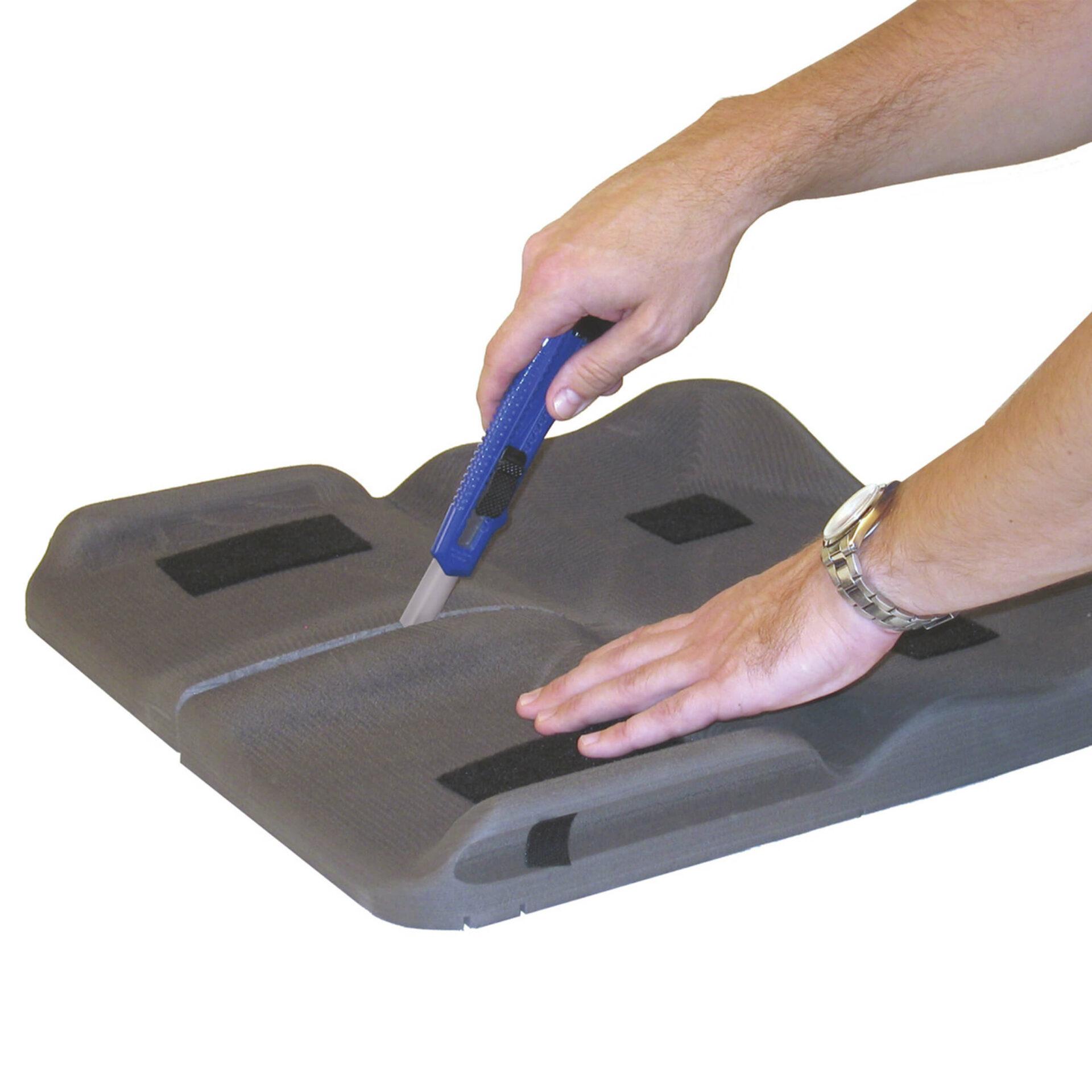 Modifying contour base of Wheelchair Pressure Cushion