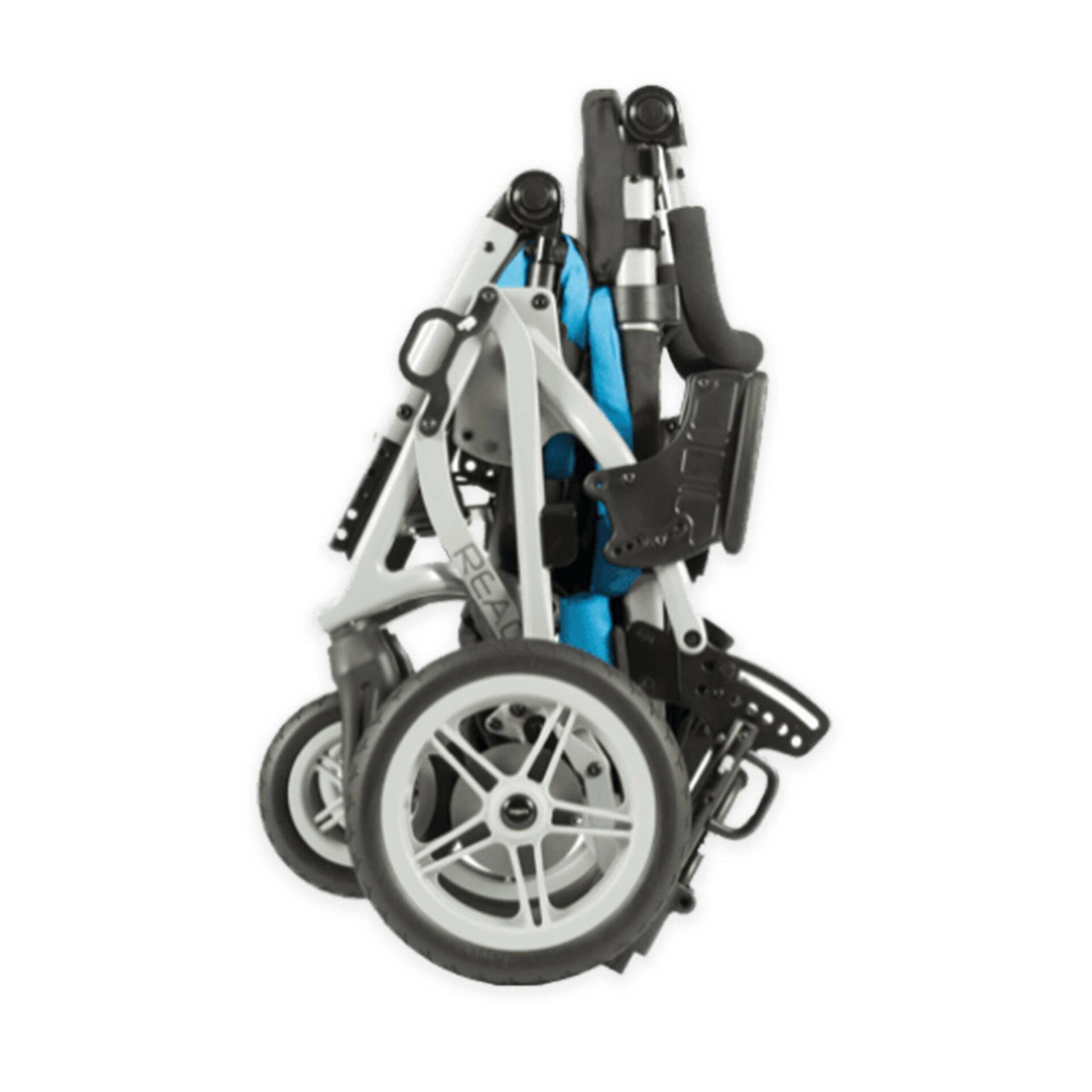 Folded Paediatric Reach Stroller