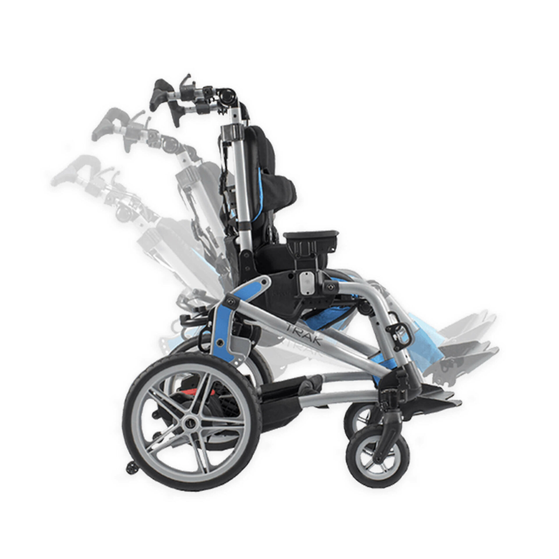 Side of Paediatric stroller